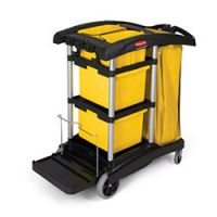 Rubbermaid Cleaning Cart 9T73