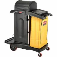 Rubbermaid Cleaning Cart 9T75